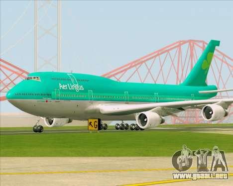 Boeing 747-400 Aer Lingus para GTA San Andreas left