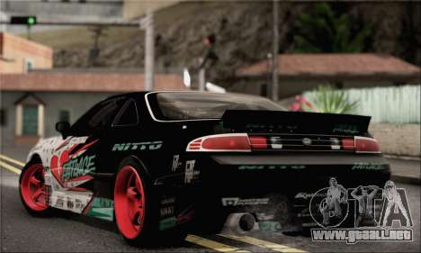 Nissan Silvia S14 Zenki Matt Powers para GTA San Andreas left