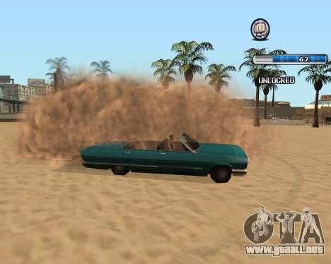 El Herp ENB FINAL para alta y media de la PC para GTA San Andreas quinta pantalla