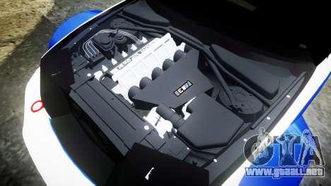 BMW M3 E46 GTR Most Wanted plate NFS para GTA 4 vista lateral