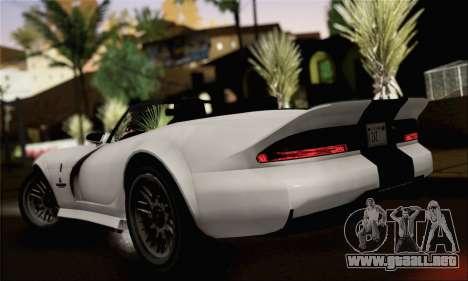 GTA 5 Bravado Banshee (IVF) para GTA San Andreas left