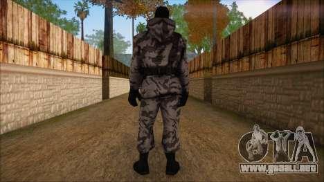 Artic from Counter Strike Condition Zero para GTA San Andreas segunda pantalla