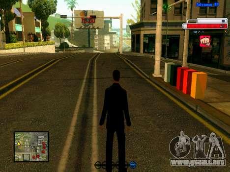 Ped.ifp v2 para GTA San Andreas sexta pantalla