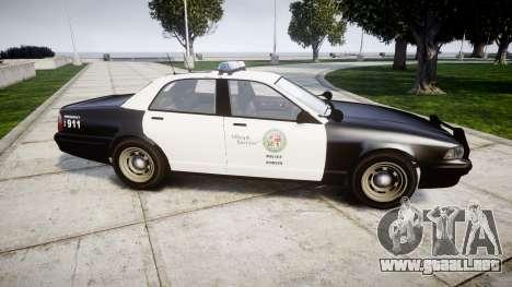 GTA V Vapid Police Cruiser Rotor para GTA 4 left