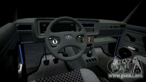 El USO de-2107, Lambo para GTA 4 vista hacia atrás