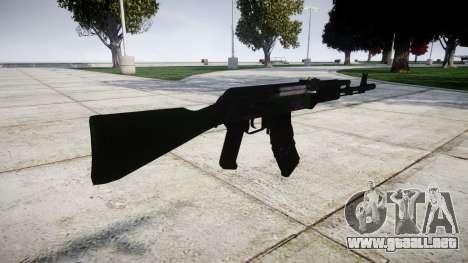 El AKM-74 para GTA 4 segundos de pantalla