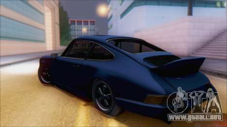 Porsche 911 Carrera 1973 Tunable KIT A para GTA San Andreas left