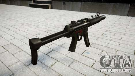 Pistola de MP5SD RO FS para GTA 4 segundos de pantalla