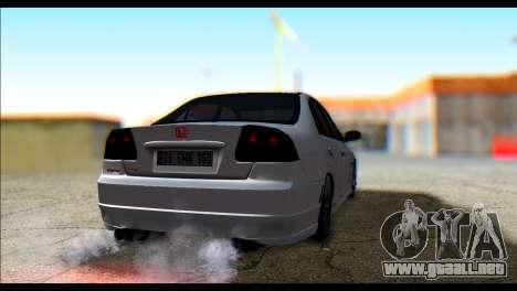 Honda Civic VteC para GTA San Andreas left