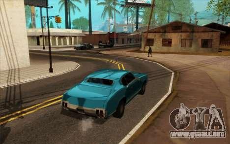 ENB para baja de PC (SAMP) para GTA San Andreas sexta pantalla