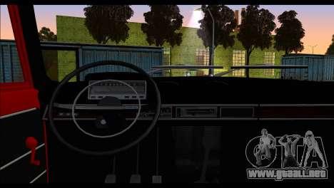 Tofas Murat 124 para GTA San Andreas vista posterior izquierda
