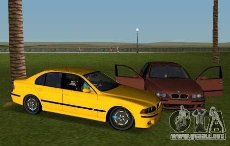 BMW M5 E39 para GTA Vice City