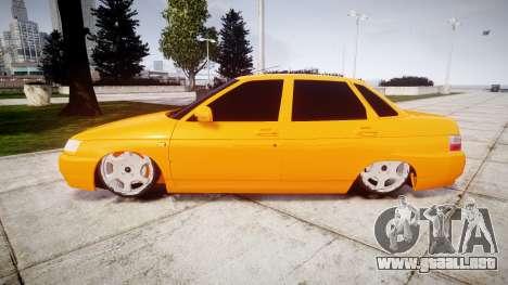 ВАЗ-2110 Bogdan rims1 para GTA 4 left