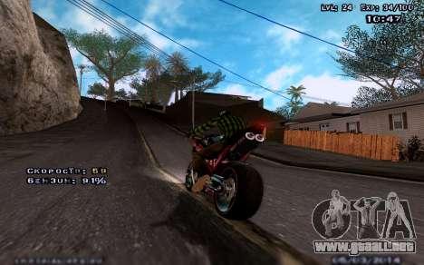 Gráficos mejorados por medio de equipos para GTA San Andreas tercera pantalla