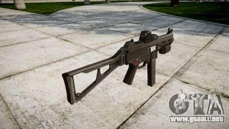 Alemán subametralladora HK UMP 45 para GTA 4 segundos de pantalla