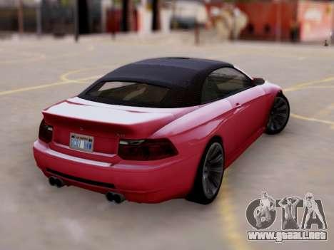 La superioridad de Sión convertible GTA V para GTA San Andreas left
