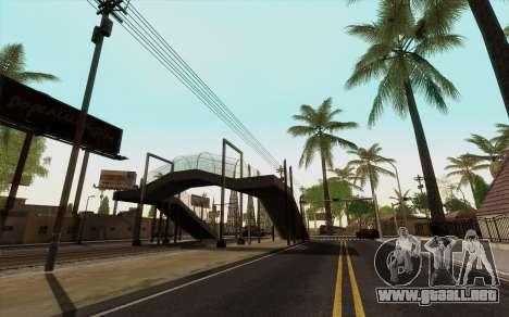 ENB para baja de PC (SAMP) para GTA San Andreas tercera pantalla