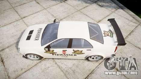 Albany Presidente Racer [retexture] Pibwasser para GTA 4 visión correcta