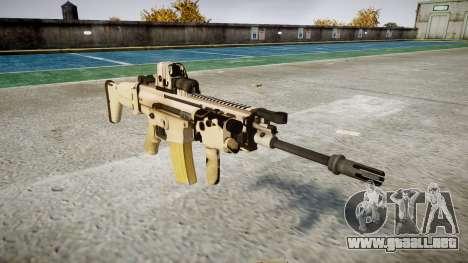 Máquina FN CICATRIZ-L Mc 16 icon3 para GTA 4