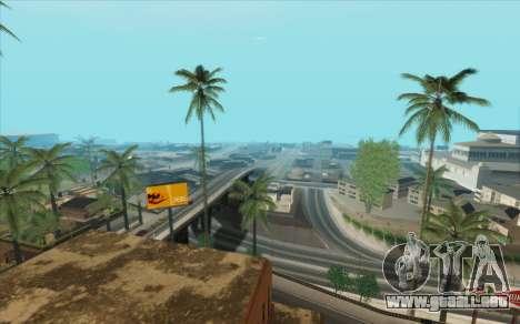 ENB para baja de PC (SAMP) para GTA San Andreas octavo de pantalla