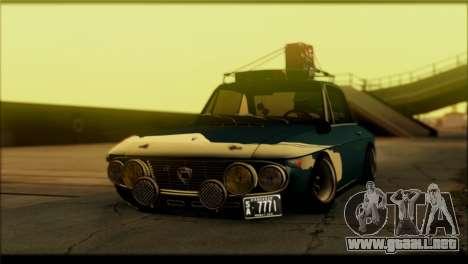 ENB Rujac para equipos débiles para GTA San Andreas tercera pantalla