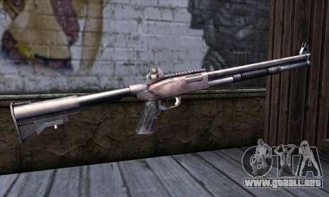 Chromegun Standart para GTA San Andreas segunda pantalla
