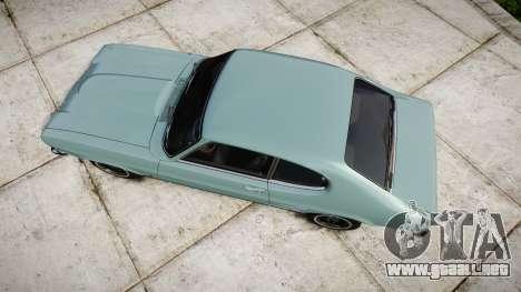 Ford Capri GT Mk1 para GTA 4 visión correcta