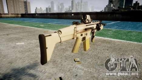 Máquina FN CICATRIZ-L Mc 16 icon3 para GTA 4 segundos de pantalla