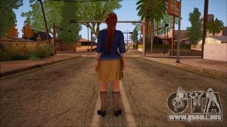 Modern Woman Skin 9 v2 para GTA San Andreas segunda pantalla
