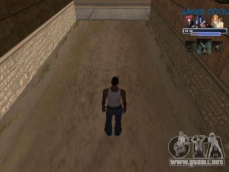 Anime C-HUD para GTA San Andreas segunda pantalla
