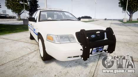 Ford Crown Victoria [ELS] Liberty County Sheriff para GTA 4
