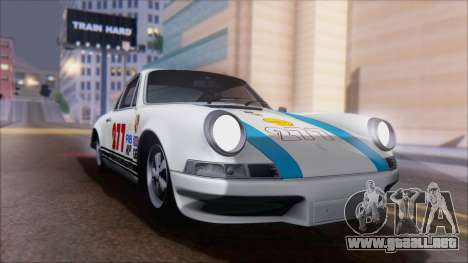 Porsche 911 Carrera 1973 Tunable KIT A para visión interna GTA San Andreas