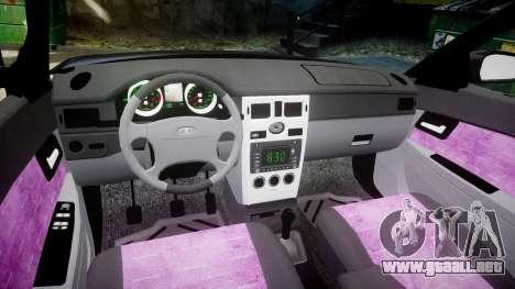 ВАЗ-21728 LADA Priora Coupe para GTA 4 vista interior