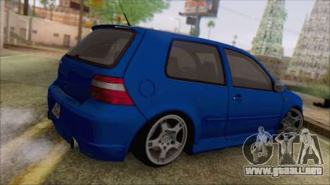Volkswagen Golf 4 R36 para GTA San Andreas left