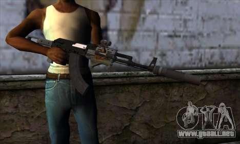 Assault Rifle from GTA 5 para GTA San Andreas tercera pantalla