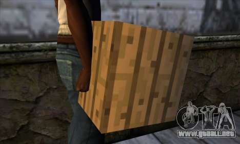 Bloque (Minecraft) v11 para GTA San Andreas tercera pantalla