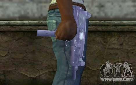 UZI para GTA San Andreas tercera pantalla