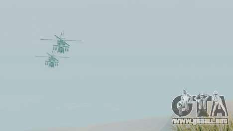 Zona de recuperación 69 para GTA San Andreas segunda pantalla
