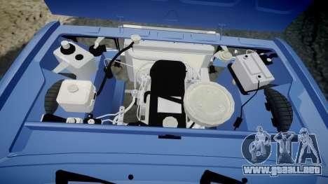 El USO de-2107, Lambo para GTA 4 vista interior