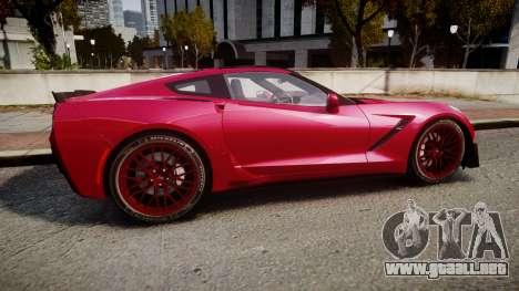 Chevrolet Corvette Z06 2015 TireMi2 para GTA 4 left
