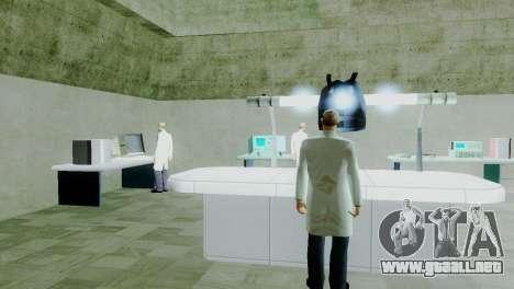 Zona de recuperación 69 para GTA San Andreas décimo de pantalla