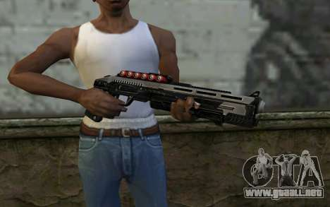 Shotgun from Deadpool para GTA San Andreas tercera pantalla