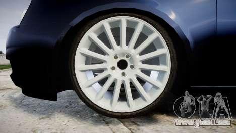 ВАЗ-21728 LADA Priora Coupe para GTA 4 vista hacia atrás