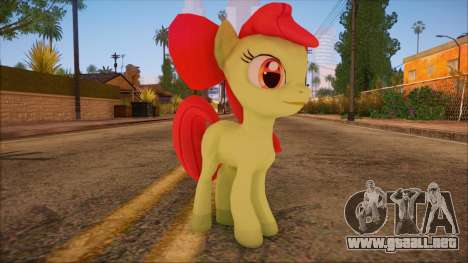 Applebloom from My Little Pony para GTA San Andreas