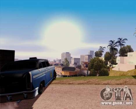 Borgnine para GTA San Andreas vista posterior izquierda