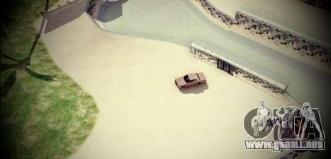Skate Park para GTA San Andreas segunda pantalla