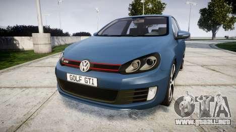 Volkswagen Golf GTI 2010 para GTA 4