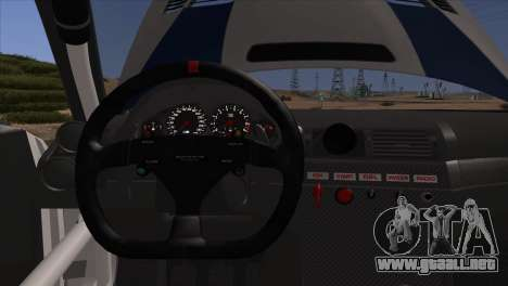 BMW M3 E46 GTR para GTA San Andreas interior