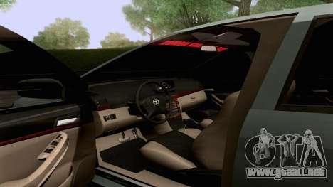 Toyota Vios Extreme Edition para la vista superior GTA San Andreas