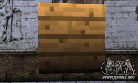 Bloque (Minecraft) v11 para GTA San Andreas